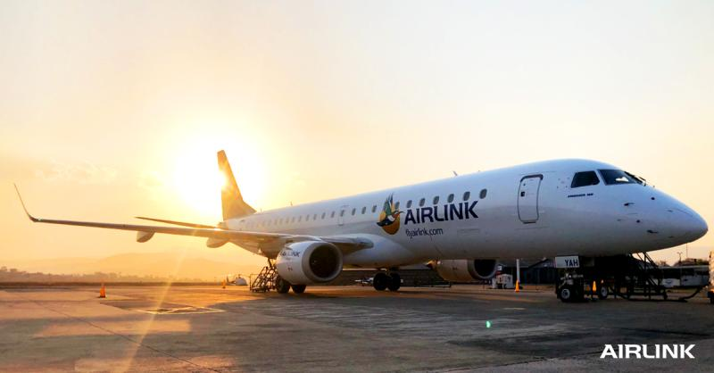 Airlink Embraer E190 On Ground